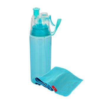 萨汀莱斯 酷爽套装 JSC-10-1 水杯+毛巾