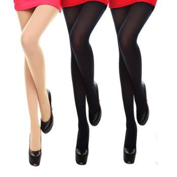 【3条装】50D半透肉天鹅绒丝袜连裤袜防勾丝性感显瘦打底女袜三条装42099