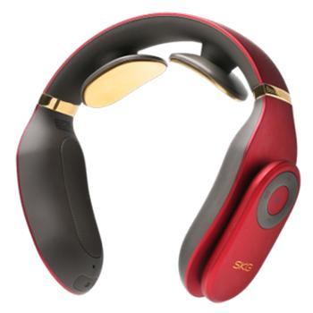 SKG颈椎按摩仪 4098尊贵款 大红色