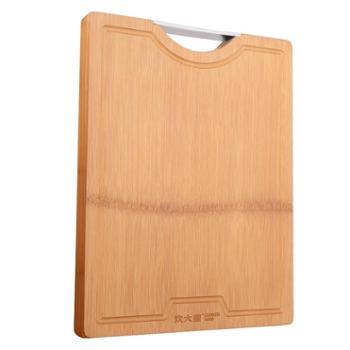 炊大皇切菜板实木制家用整竹子水果案板厨房擀面板砧板38cm