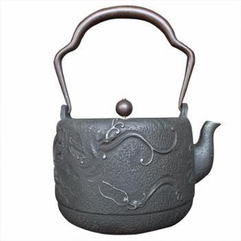示象堂铁壶-大雨龙大容量铁壶内壁无涂层电陶炉电磁炉家用铸铁壶