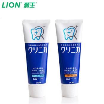 LION/狮王齿力佳进口酵素健齿立式牙膏2支装去牙垢防蛀固齿