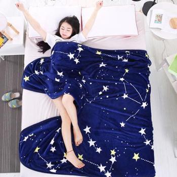 安娜贝妮梦珊瑚毯子冬季用加厚保暖毛绒单件床单人宿舍生活用品法兰绒厨房用具毛毯床上用品