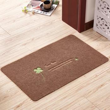 浴室垫定制进门地垫卧室厨房门厅卫浴吸水脚垫四叶防滑垫