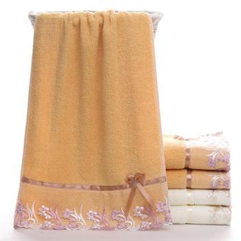 蕾丝毛巾 儿童毛巾