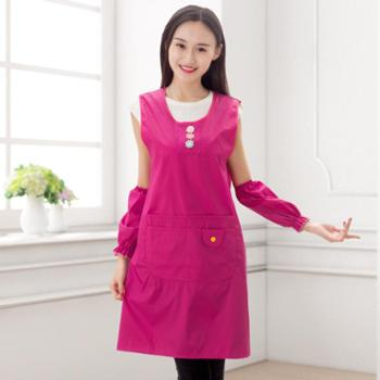 韩版围裙女可爱公主防水防油厨房做饭成人反穿衣