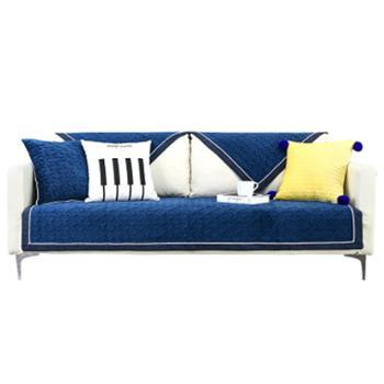 沙发垫北欧四季短毛绒防滑垫