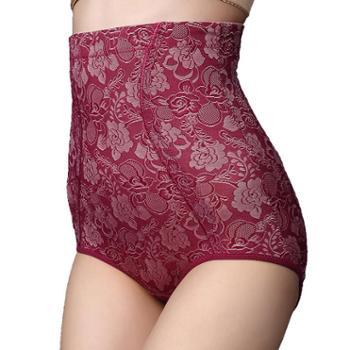 珠蒂曼大码女士内裤超大码收腹女式内裤高腰美体塑身收腹裤提花产后孕后妈妈提臀塑身裤