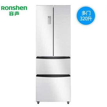 Ronshen/容声 BCD-320WD11MY 大三门多门四门对开门家用电冰箱