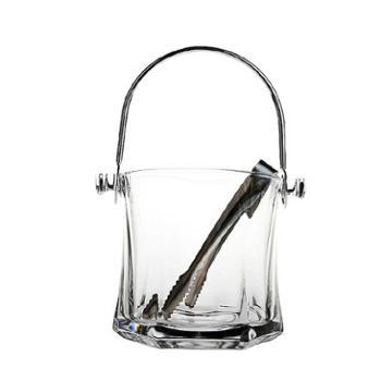 送冰夹玻璃保温红酒啤酒冰桶家用KTV酒吧欧式冰块香槟桶
