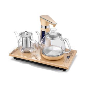 全自动上水电热烧水壶玻璃透明家用茶炉茶具抽水泡茶专用器煮茶台容声 RS-T03A