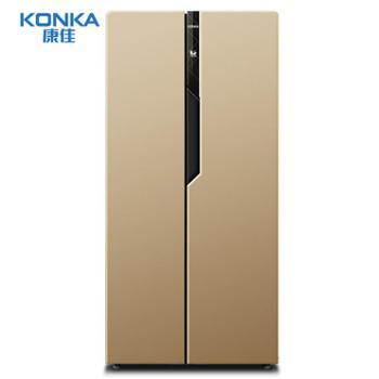 KONKA/康佳BCD-400EGX5S400升对开门冰箱电脑控温家用双门