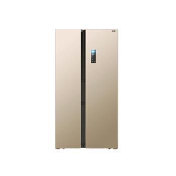 MeiLing/美菱 BCD-601WPCX 双开门冰箱 对开门家用风冷变频电冰箱