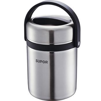 苏泊尔保温饭盒 超长保温桶304不锈钢大容量多层学生便当饭盒提锅