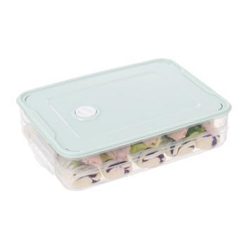 饺子盒冻饺子多层速冻水饺馄饨 冷冻大号家用托盘冰箱保鲜收纳盒