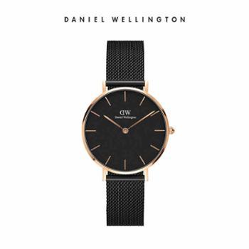 专柜正品danielwellington丹尼尔惠灵顿DW女士手表金属表带情侣石英表