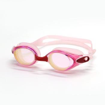 GRiLong 近视泳镜 电镀硅胶防雾游泳镜成人游泳眼镜MC-825