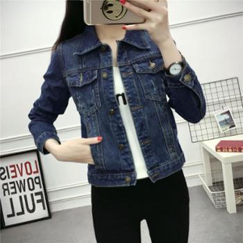 牛仔外套女短款修身显瘦韩版春秋季装新款百搭学生大码上衣潮