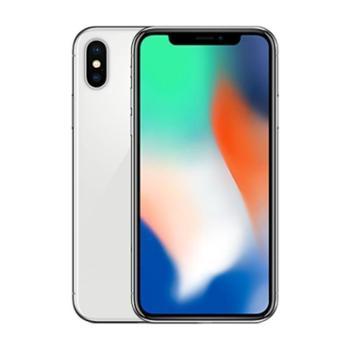 【浙江龙支付】AppleiPhoneX256GB银色移动联通电信4G手机