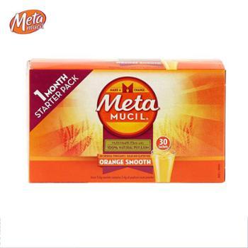 美达施膳食纤维粉香橙味 177g meta果蔬粉袋装30次