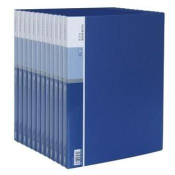 得力(deli) 5003 经济型A4/30页资料册 蓝色 单个