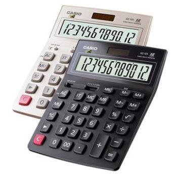 CASIO卡西欧GZ-12S计算器 大号太阳能财务会计办公语音计算机