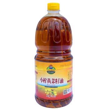 辛农民小榨黄菜籽油1.8L装