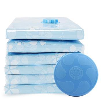 巧安居抽气真空压缩袋大号棉被收纳袋衣物整理袋搬家打包袋送电泵