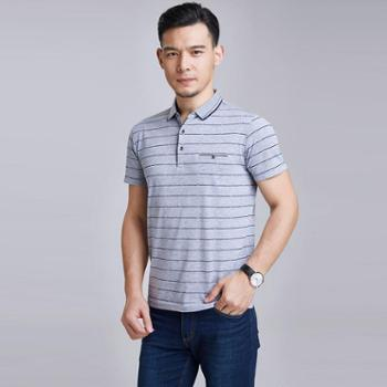 牧都绒语男士T恤半袖FM9691-2