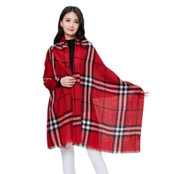 牧都绒语新款女士围巾ES7161-65
