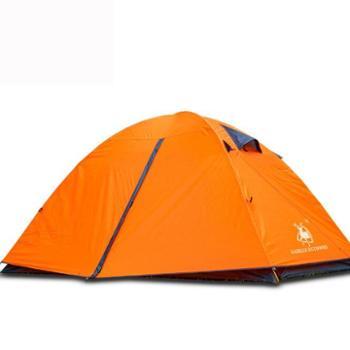 徽羚羊 铝杆双人双层户外露营帐篷