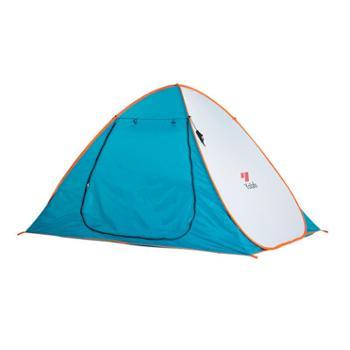 悠莱弗Yolafe户外帐篷双人自动速开手抛帐篷露营免搭建沙滩2人野营帐篷