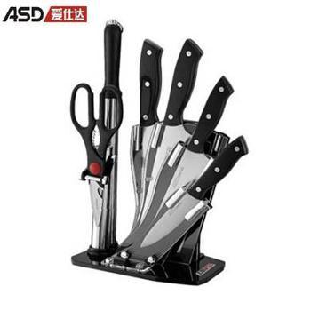 爱仕达/ASD 903707刀具套装 明锐系列不锈钢七件套组合