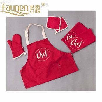 芳恩家纺 FN-CF900 初味生活六件套 围裙手套煲垫
