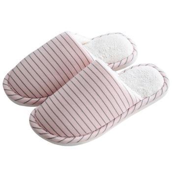 安尚芬秋冬季棉拖鞋女月子半包跟大码男士保暖棉拖鞋情侣厚底加绒拖鞋