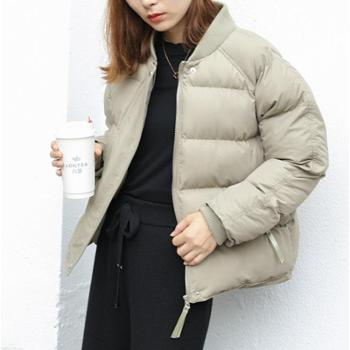 【包邮】棉服女短款冬装韩版宽松加厚小棉袄羽绒棉衣BF原宿面包服