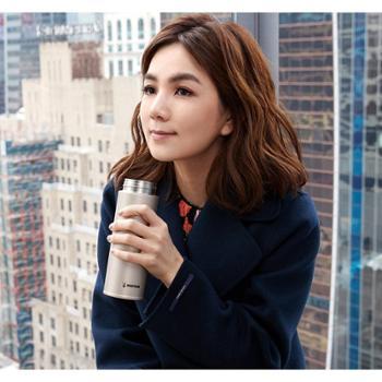 韩国杯具熊新款时尚成人保温杯梅花杯女神杯不锈钢情侣水壶五角星
