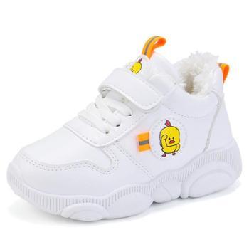 儿童运动鞋秋冬季女童老爹鞋加绒加厚男童休闲童鞋子