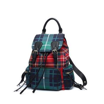 doodoo双肩包ANMLY系列女士双肩包新款韩版百搭学院风旅行背包时尚学生书包女包A8285
