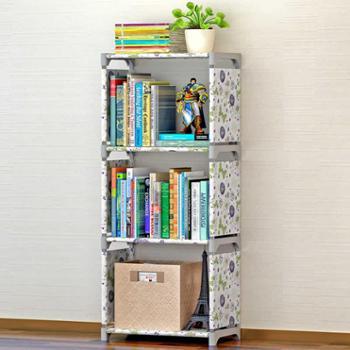 索尔诺 创意小型桌上书架 中号 儿童书柜自由组合置物架简易收纳柜包邮