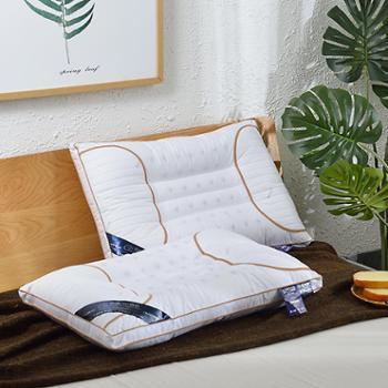 花蓉蓉枕芯枕头磁石枕学生宿舍单人护颈枕成人枕男女一对拍2