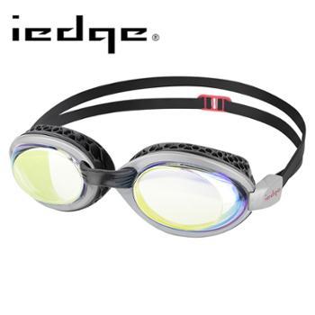 巴洛酷达品牌iedge系列近视泳镜透明镀金/黑VG-956