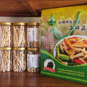 饶氏佰钰海鲜菇干品60g(1盒6罐)