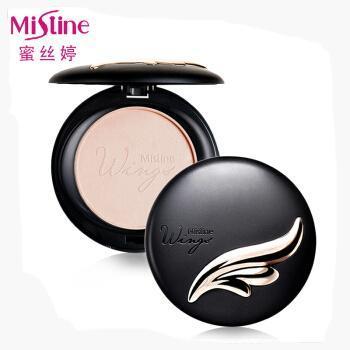 Mistine羽翼粉饼/陶瓷粉饼10g定妆遮瑕持久嫩白