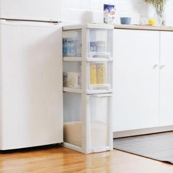 桑代多层大号整理收纳箱子透明塑料组合抽屉式玩具家用置物收纳柜