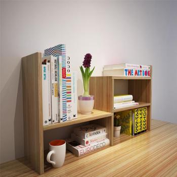 创意桌面书架置物架儿童宿舍书柜书架简易桌上学生用办公室收纳架