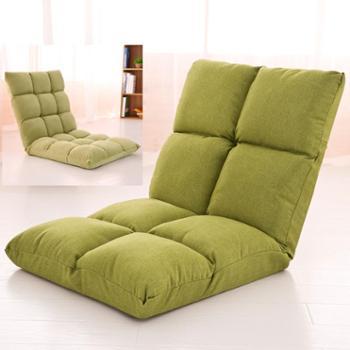 懒人榻榻米小沙发单人休闲可折叠床上宿舍电脑卧室阳台飘窗靠背椅