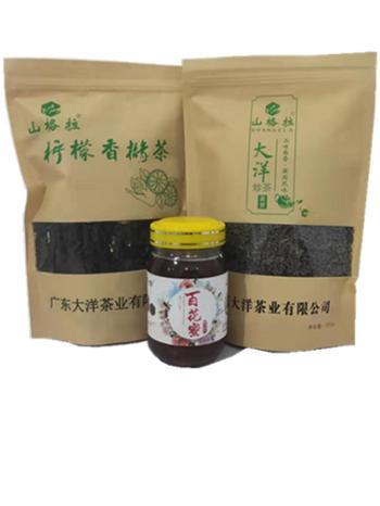 山格拉春节礼包 柠檬香橼茶 大洋炒茶 百花蜜