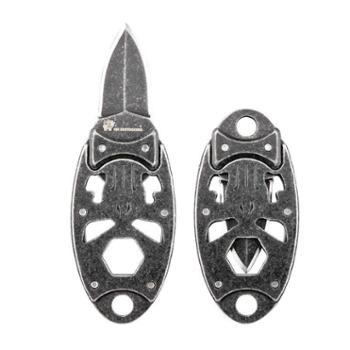 汉道惩戒者小刀随身户外刀具多功能军刀防身军工刀钥匙扣折叠刀