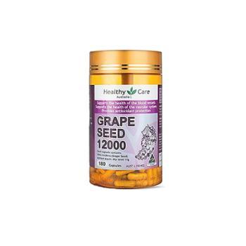 【保税仓】HealthyCare葡萄籽180粒